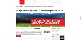 Verizon Wireless Football Getaway Sweepstakes