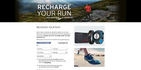 Recharge Your Run Sweepstakes