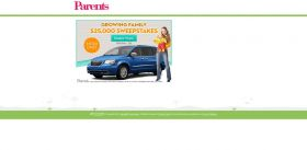 Parents.com $25,000 Sweepstakes at parents.com/25kholiday