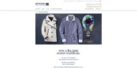 Sperry Top-Sider Win a Wardrobe Sweepstakes – Win $2,5000 worth of Sperry Top-Sider apparel