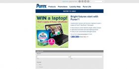 Bright futures start with Purex! Sweepstakes