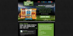 SnydersOfHanover.com/Boldest – Snyder's of Hanover #BoldestPlay Sweepstakes – Attend a 2014 ESPN College Bowl Game