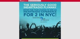 Seriously Good iHeartRadio Flyaway Contest – Win an iHeartRadio Experience for 2 in NYC