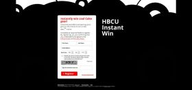 HBCU T-Shirt Instant Win Game – Win Coke Zero T-Shirts!