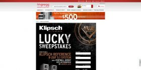 Klipsch Lucky Sweepstakes