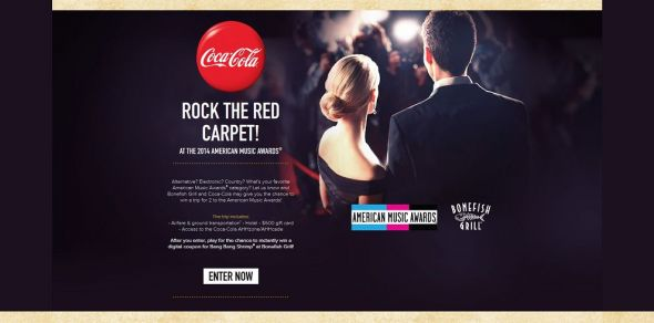 Cokeplaytowin Com Rocktheredcarpet Rock The Red Carpet