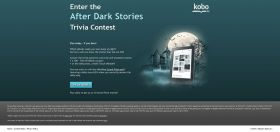 Kobo's After Dark Stories Trivia Contest : Play today… if you dare!