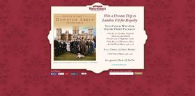 World Market's Downton Abbey Sweepstakes : Win a dream trip to London Fit for Royalty