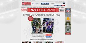NFLShop.com Family Tree Photo Contest : Win a $1,000 NFLShop Gift Card