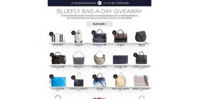 Bluefly Bag-A-Day Giveaway : 25 Designer Bags. 25 Winners.