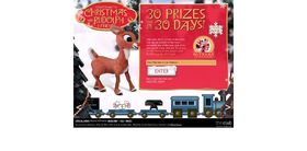 Countdown To Christmas With Rudolph And Friends Sweepstakes : 30 Prizes In 30 Days