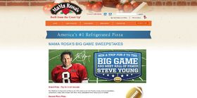 MaMa Rosa's Big Game Sweepstakes : Win A Trip To The Big Game