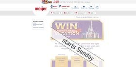 Meijer.com/VacationSweeps – Kellogg's and Meijer Theme Park Vacation Sweepstakes