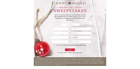 Tommy Hilfiger Holiday Gift Guide Sweepstakes