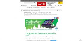 Staples #LessStress Sweepstakes : Win An Asus Transformer Book Flip