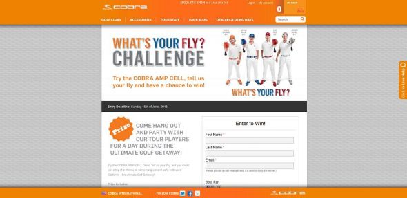 What's Your Fly Challenge Sweepstakes