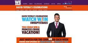 WEtv David Tutera CELEbrations Watch And Win Sweepstakes