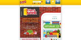 Play Glad Fridge & Seek Instant Win Game: Win Visa gift cards