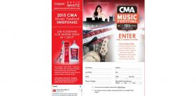 Colgate Optic White CMA Music Festival Sweepstakes