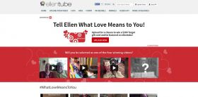 ellentube's Tell Ellen What Love Means To You Contest