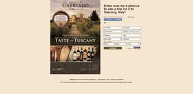 Taste of Tuscany Sweepstakes: Enjoy Centuries Of Tradition!