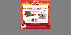 Sun-Maid Snack 'n' Read Promotion: Win Children's Books!