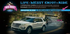 2015 Ford Mud Mode Makeover Sweepstakes