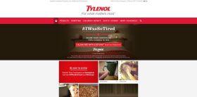 Tylenol #IWasSoTired Sweepstakes