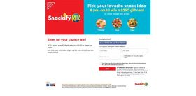 Ritz Snackify Promotion: Vote At VoteSnackify.com!