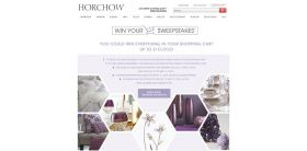 Horchow Win Your Shopping Cart Sweepstakes: Win Everything In Your Shopping Cart!