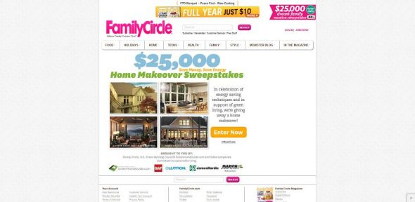 $25,000 Save Money Save Energy Home Makeover Sweepstakes