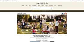 Lands' End Quality. Time. Sweepstakes And Instant Win Game