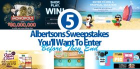 5 Albertsons Sweepstakes You'll Want To Enter Before They End