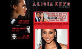 Alicia Keys Fan Club Black Ball Experience Sweepstakes