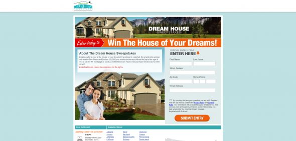 Dream House Sweepstakes