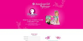 AmericanGirl.com/WinMaryellen – American Girl Maryellen Doll Sweepstakes