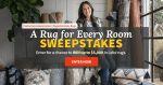 BHG A Rug for Every Room Sweepstakes (BHG.com/LoloiRugs)