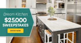 BHG Dream Kitchen $25,000 Sweepstakes (BHG.com/25K)
