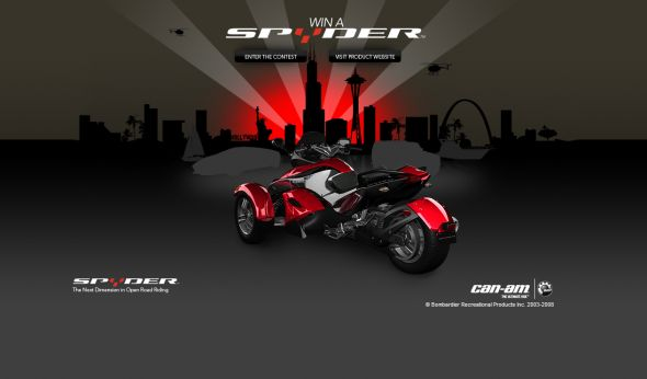 BRP Can-Am Win a Can-Am Spyder Roadster Sweepstakes