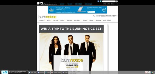 Burn Notice On the Set Sweepstakes