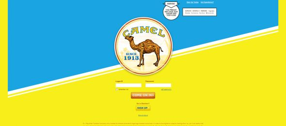 Camel Freedom to Instantly Win Sweepstakes