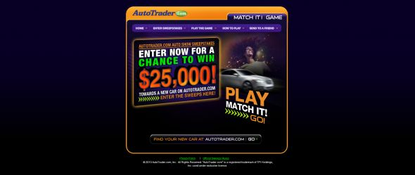AutoTrader.com $25,000 Auto Show Sweepstakes