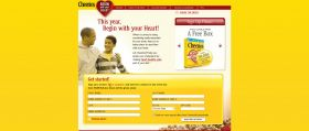 Cheerios Begin with your Heart Sweepstakes