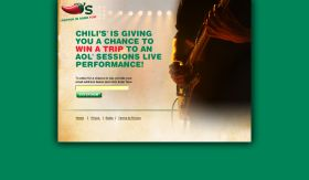 Chili's Live Music Sweepstakes