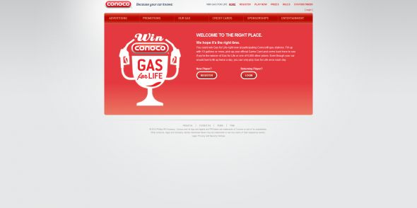www.conocogasforlife.com – Conoco Gas For Life Sweepstakes