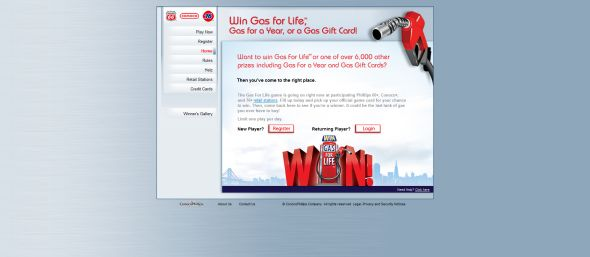 ConocoPhillips Gas For Life Game