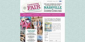 CountryLiving.com Nashville Fair 2016 Sweepstakes