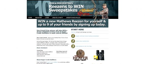 Deer & Deer Hunting's 10 Reezens to Win Sweepstakes