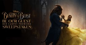 Disney Beauty And The Beast Be Our Guest Red Carpet Premiere Sweepstakes