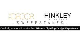 ELLE Decor Hinkley Lighting Sweepstakes (ElleDecor.com/HinkleyLighting)